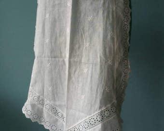 Beautiful lace apron! Brocante kitchen apron #2