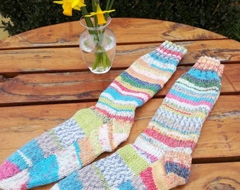 Socks. Hand Knitted Socks.