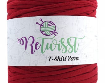 Retwisst T-shirt Fabric Yarn 120M Cotton Yarn Knitting Crochet Crocheting TY193