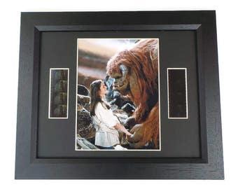 Labyrinth Characters Film Cell Movie Memorabilia Gift Framed Or Unframed Original Vintage Film Cells