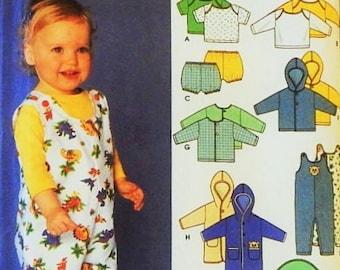 Babies' Layette Pattern - Babies' Clothing & Blanket Pattern - Sizes XXS, XS, S, M, L - Simplicity Pattern Designed by Karen Z - UNCUT
