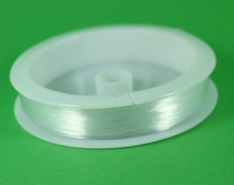 Monofilament Beading Thread 0.25mmx100m (Non Stretch) Per Reel