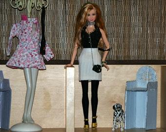 skirt Barbie handmade clothes - fashion royalty