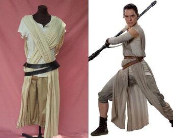 Complete Rey Costume Set