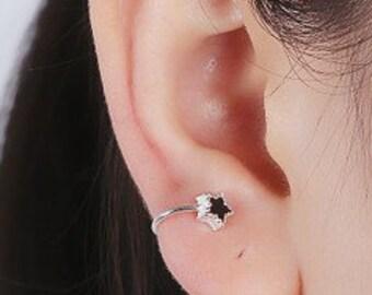 Star ear cuffs - Intricate design - Tiny - Elegant - Jewelry - E044