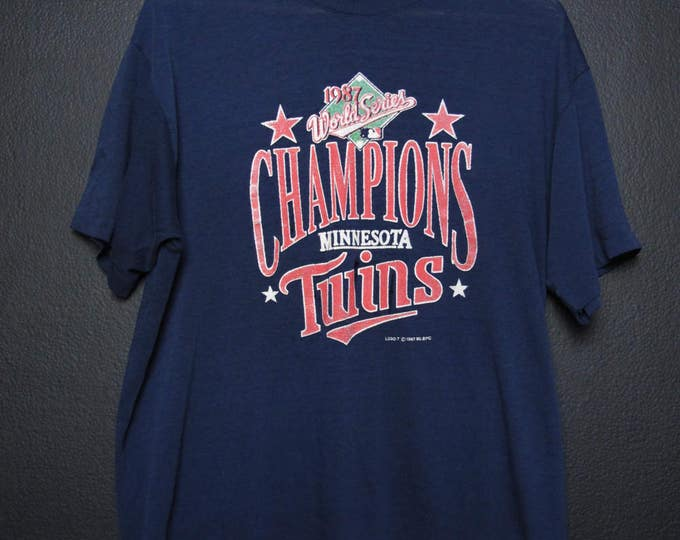 Minnesota Twins World Series Champions 1987 Vintage T-shirt