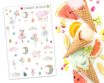 Dream Sweetly Decorative Stickers