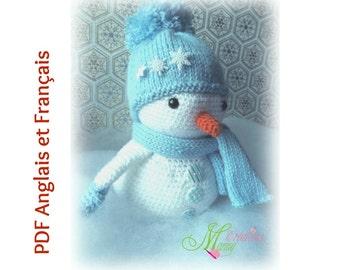 Snowman decorative, bonhomme de neige décoratif, Noël, Christmas