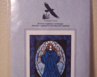 Guardian Angel  (Stained Glass Pattern) Ravenwood Designs