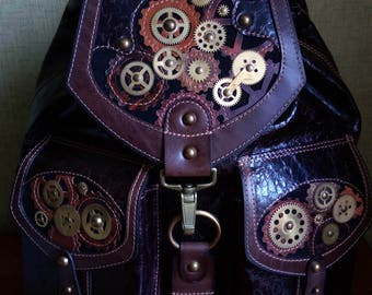 "Backpack ""STEAMPUNK"""