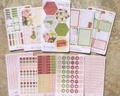 ROMANCE KATE: Planner Sticker Kit |WITH Mission Board Headers | A5 - Quarterly or Bound inkWELL Press Planner | LucKaty