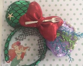 Little Mermaid Ariel Ears