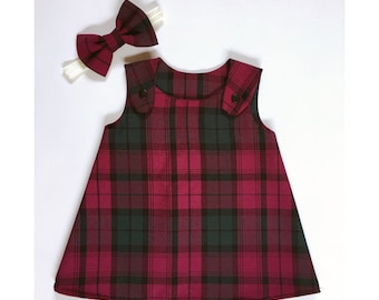Girls pinafore dress | Etsy