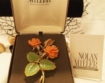 Nolan Miller's Ann-Margret's Rose Brooch/Pin