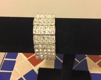 Rhinestone  Bracelet, Small
