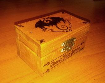 Dungeons & Dragons dice door-ash: