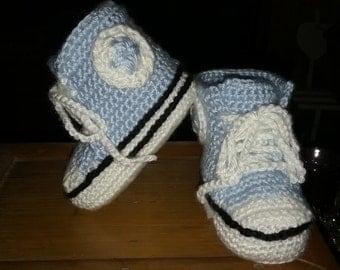 Baby Boy Sneaker Booties! 6-12 months