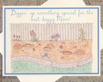 Dog Card, Funny Mom Card, Dog Lover Card, Mother Card, Funny Dog Mom, Funny Dog Card, Mothers Day Card, Dog Mom Card, Mom Card