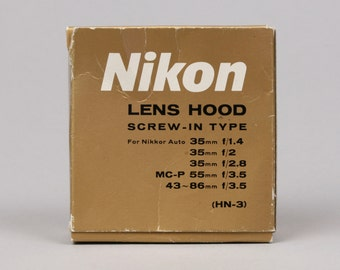 Nikon HN-3 Screw-in Lens Hood, Like New in Box