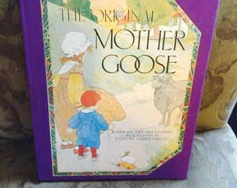 The Original Mother Goose Book Vintage