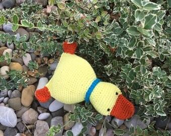 """Cuddly animal Duck """"duck"""""""