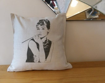 SALE Audrey Hepburn Cushion Cover 20% OFF!!