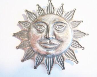 Sun Shine Face Pin