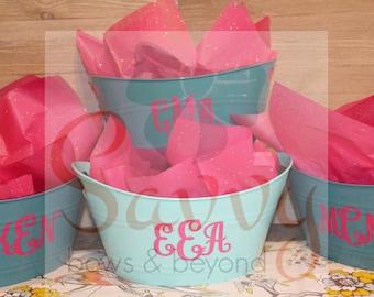 Bridal Party Buckets