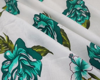 """Dressmaking Fabric Cotton Fabric For Sewing Designer Pure Cotton Fabric White Crfat 42""""Wide Sewing Drape Dress Fabrics By The Yard ZBC6173"""