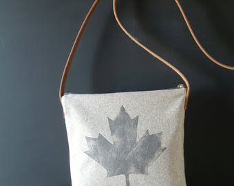 Canadian Maple Leaf Crossbody Purse