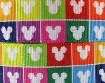 """Whimsical Mouse Design Dog Collar - Choose Side Release Buckle or Martingale  (1"""" Width) - Martingale Option Available"""