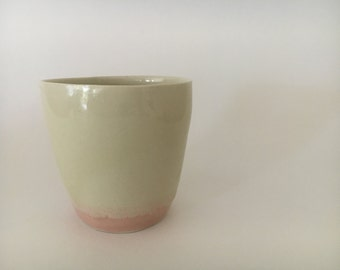Pink bottom cup