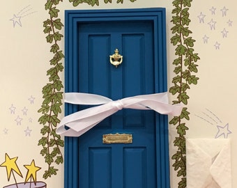 Blue Magic Fairy Door