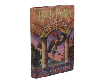 Harry Potter and the Sorcerer's Stone by JK ROWLING ~ First Edition 1st Printing with All Points