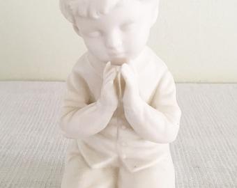 Napcoware Japan Kneeling Praying Boy