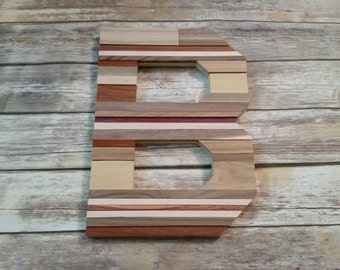 rustic wood letter rustic home decor wood letter reclaimed wood letter wood wall art personalized letter wood wall decor wall decor
