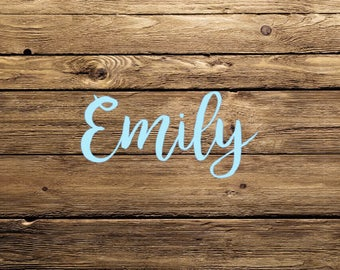 Personalized Name Car Decal
