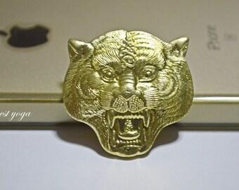 LP Pern Wat Bang Phra (Thai Tattoo Master) Tiger Face Hua Suea Maha Amnaj Talisman Amulet Thai Buddha