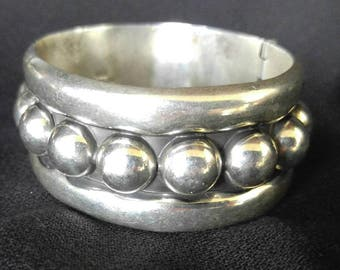 Mexican silver braclet