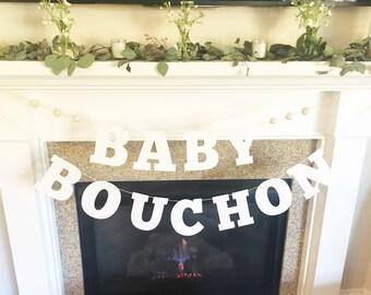 Baby Shower Banner, Baby Shower Boy, Baby Shower Girl, Gender Neutral Baby Shower, Baby Shower Backdrop, Nursery Decor, Baby Pom Pom Banner