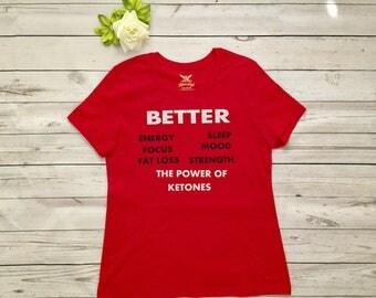 KETO OS custom made T-shirt, Special order Keto shirt