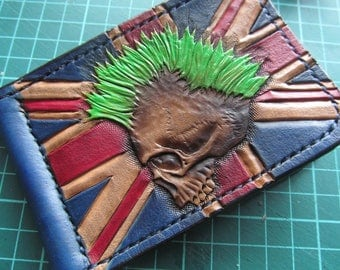 "Moneyclip ""Punks not Dead"""