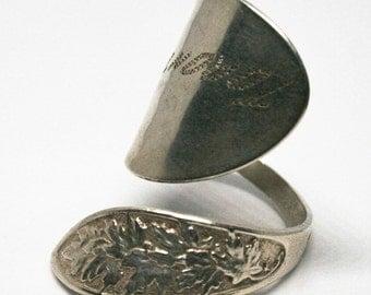 Handmade Toronto Silver Spoon Ring.