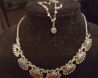 Junk Jewelry necklace duo