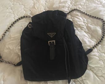 90's Vintage Prada Backpack