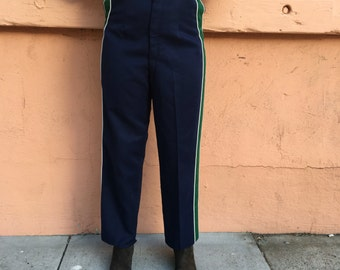 Blue marching band pants