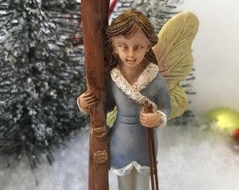 Miniature Skiing Fairy