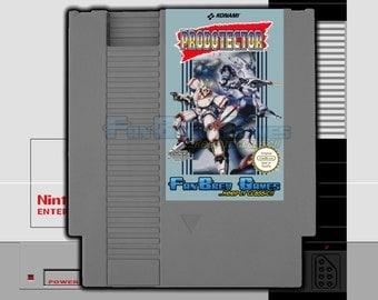 """SPECIAL ORDER! """"Probotector"""" Unreleased Nintendo NES Contra Robot Version German FanBrew Games!"""