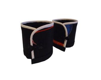 Akya RPM Japanese fabric Cuff Bracelet