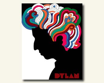 Buy 1 Get 1 Free - FINE ART REPRODUCTION Bob Dylan Poster 1966 - Music Poster Bob Dylan Print Birthday Gift Idea Bob Dylan Wall Art bp